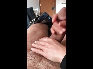 Great handjob from sisiters best friend