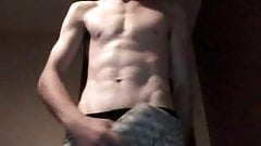 Short video of Paddy stripping and wanking!