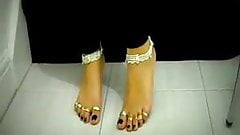 all toes ringed today, ....so geil