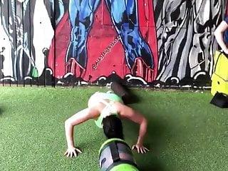 Ariel Winter Workout Video July 21 2018