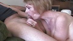 Granny Makes the Blowjob Easy