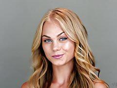 Blonde Babe Erika Gets Fucked Hard