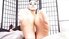 Sasha Foxxx Pantyhose Footjob