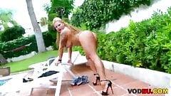 blonde whore
