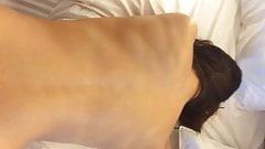 Norwegian big booty babe dogged secretly filmed cums