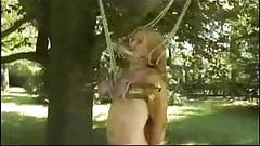 using slave tits outdoor