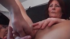Iam Pierced Mature redhead with pussy and nipple piercings