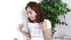 Mila Jade gets drilled by her stepbrother