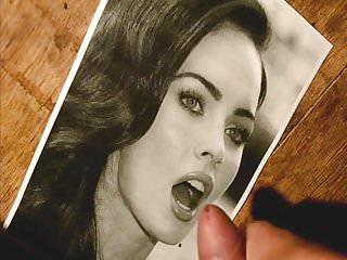 Preview 1 of cum tribute on Megan Fox