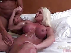 Naked female bodybuilder muscle fucking cumshot Thumbnail