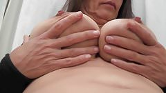 Busty Tina - The breast massage