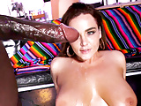 Natasha Nice Interracial Threesome Sex With Mandingo