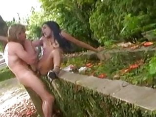 Preview 4 of super cute indian girl nisha does anal outdoors