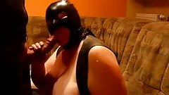 Masked mature bbw slave deepthroat n creampie bbc