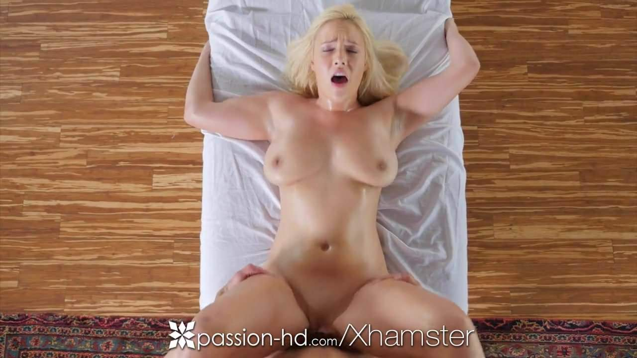 Passion-hd Busty Blonde Kylie Page Oiled Massage and.