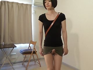 Preview 4 of crossdresser wearing a mini skirt