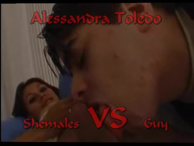 You alessandra toledo shemale