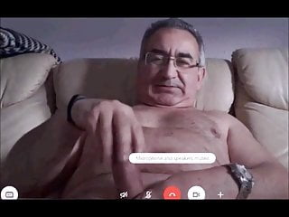 spanish grandpa show how to wank