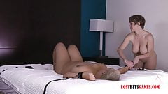 BBW and Her MILF Friend Play With the Vibrator