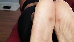 Latina Green Toes JOI