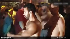 Male Celebrity Alex Di Dio Nude While Playing In Just Dance