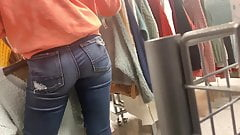 Tight Jeans Sexy Shopper Candid Ass