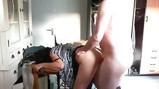 Emotional orgasm for sexy mature mom