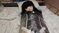 kigurumi mummy vibrating