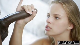 BLACKED 18yr Old Jillian Janson Has Anal Sex With BBC