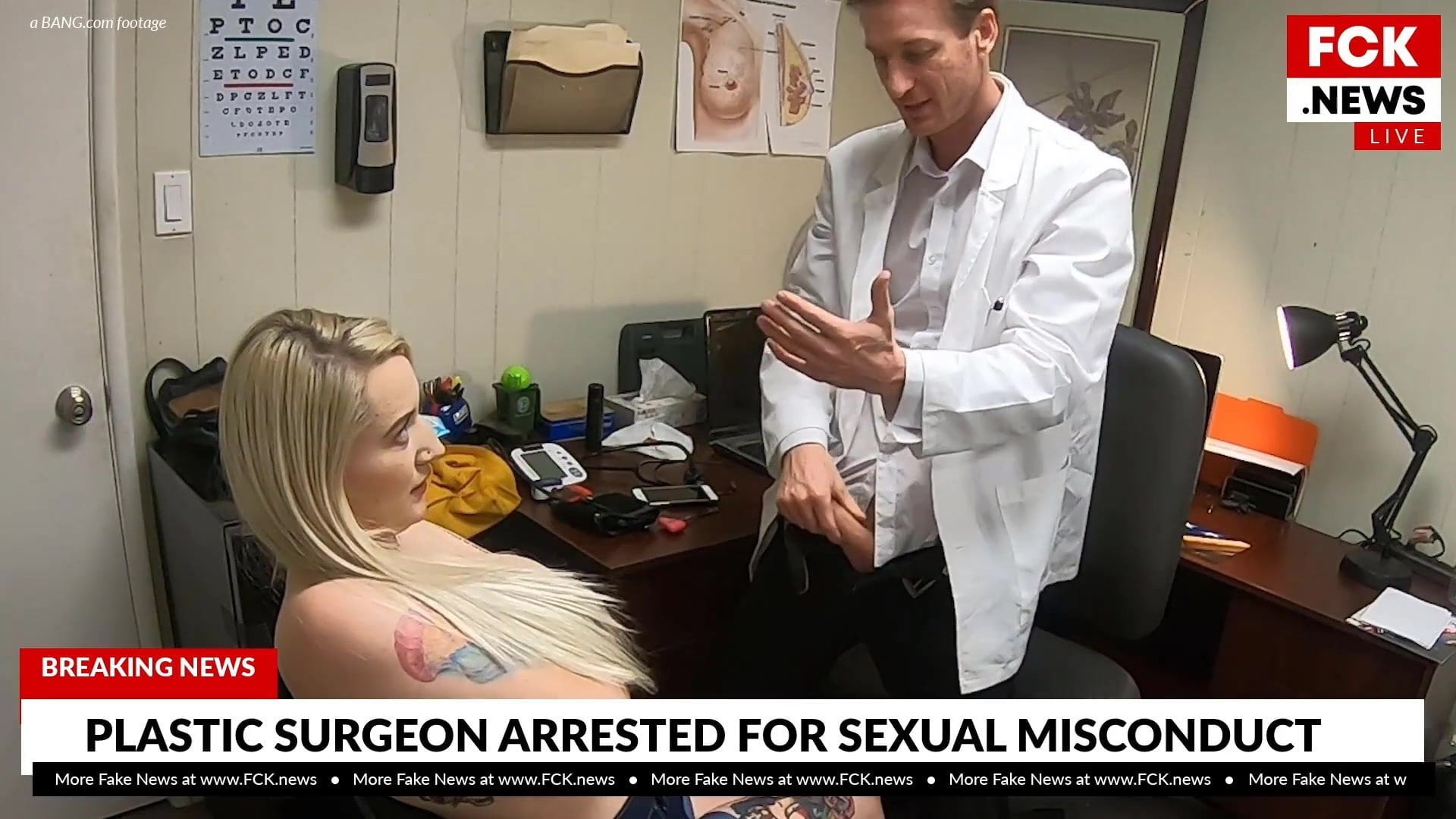 FCK Information – Plastic Surgeon Caught Fucking Tattooed Affected person