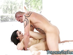 Teen spunked by stepdad