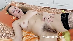 Afeena comes home to masturbate with her toy