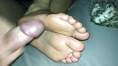 Cum on girlfriend soles