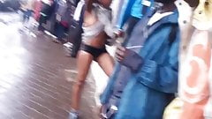 Kenyan woman naked on the streets part 2