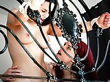 Hot lesbian babes Leila Smith and Nekane