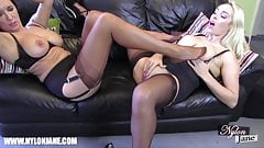 Phrase nylon slut video