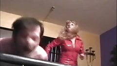 great femdom whipping
