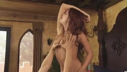 Sweet passionate softcore sex shaking