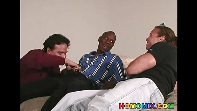 Preview 1 of Middle aged kinky gay dude gets gangbanged