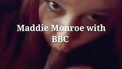 BBW Maddie Monroe sucks BBC lover