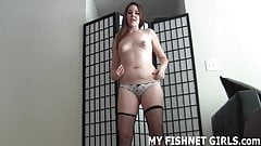 I found out about your little fishnets fetish