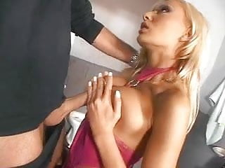 Girl get cock shoved up ass