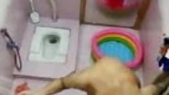 Cousin sister bathing ,,recorded spycam ,,,