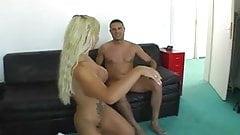 Blond slut gets dick