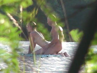Public russian beach sex part 1