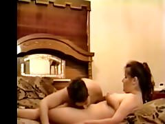 Me and Bi-Friend P1of6 Her 1st time trying bi