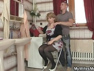 Smart guy screws his mother-in-law