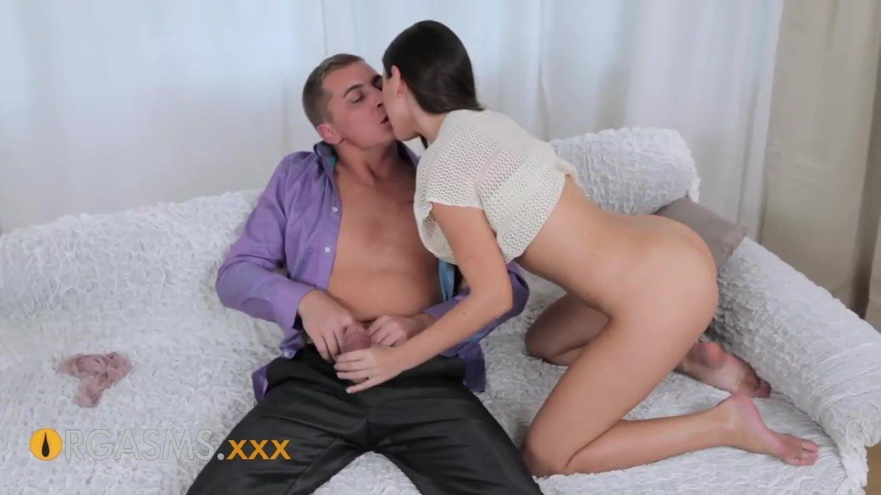 Orgasms Intimate Sensations Natural Teen Brunette Creampie
