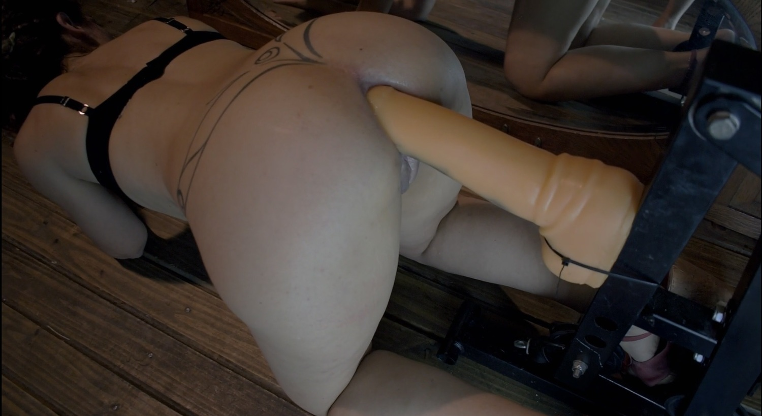 Anally chick fat free fucked video