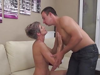 Hot milf and her younger lover 14